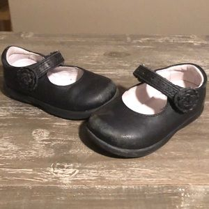 🔥3/$15 Stride Rite black leather Mary Jane